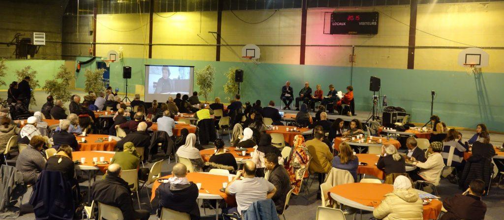 Retour en image de la soirée «La Justice pour la Paix» le 5 décembre à Sevran