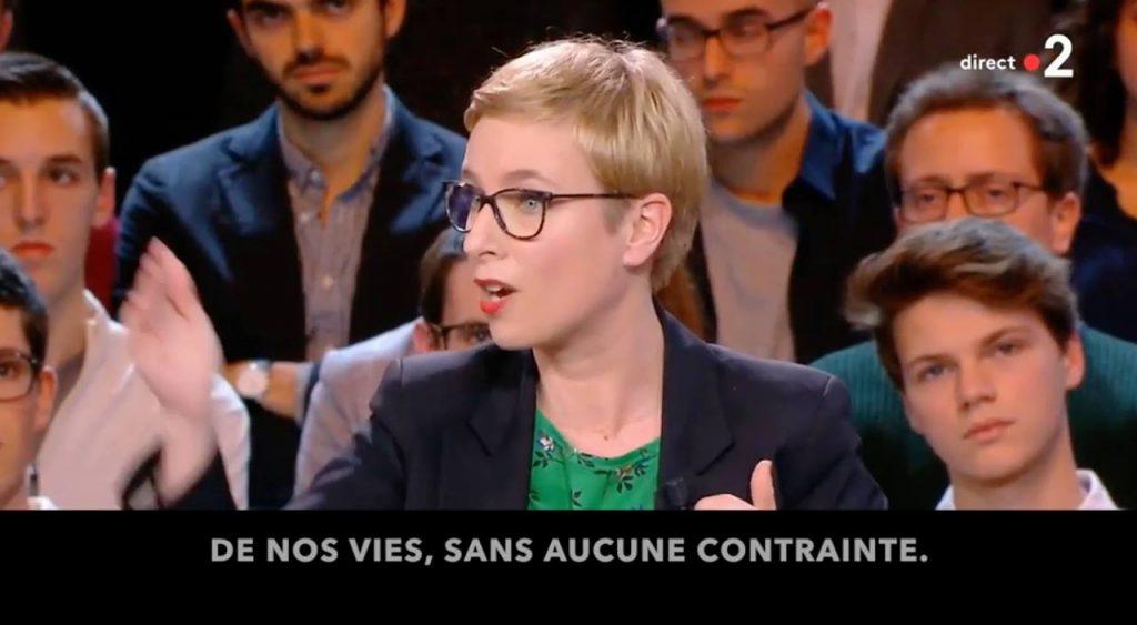 Clémentine Autain dans l'Emission Politique : Quand la France se parle