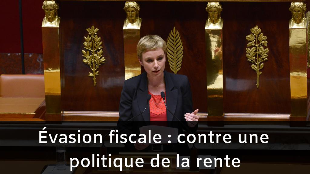 Evasion fiscale : contre une politique de la rente