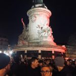 Mobilisation contre l'antisémitisme à Paris