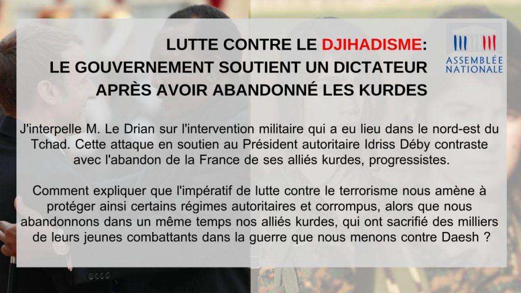 Lutte contre le djihadisme : où est la cohérence du gouvernement ?